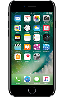 Apple® iPhone® 7 32GB in Jet Black