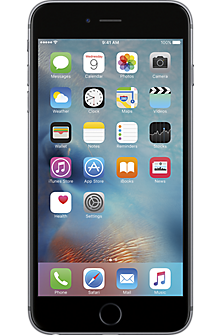 Apple® iPhone® 6s Plus 128GB in Space Gray