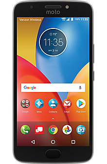 Moto E4 Plus Prepaid in Iron Gray
