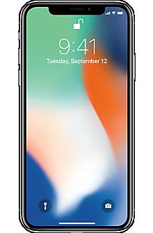 Apple® iPhone® X 64GB in Silver