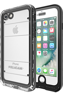 Marine Case for iPhone 8/7 - Black/Clear