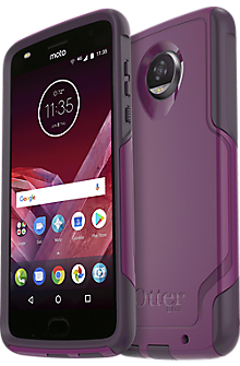 Commuter Series Case For Moto Z2 Play - Plum Way