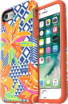 Symmetry Series Trefle Case for iPhone 7 - Caribbean Hue