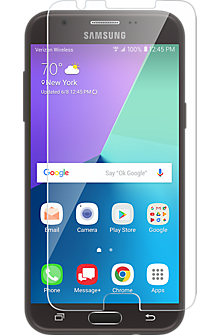 Tempered Glass Display Protector for Galaxy J3 Eclipse