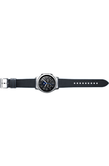 Gear S3 Classic Leather Band - Navy Blue