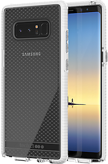 Evo Check Case for Galaxy Note8 - Clear/White