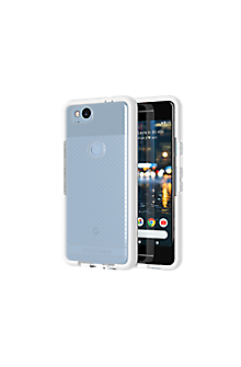 Evo Check Case for Pixel 2 - Clear/White