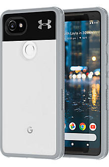 Protect Verge Case for Pixel 2 XL - Clear / Gray