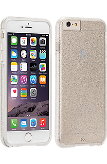 Sheer Glam for iPhone 6 Plus/6s Plus - Clear/Champagne
