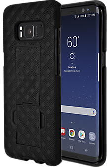 Shell Holster Combo for Galaxy S8 - Black