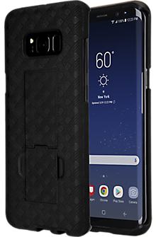 Shell Holster Combo for Galaxy S8+ - Black