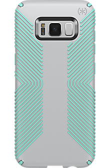 Presidio Grip Case for Galaxy S8+ - Dolphin Grey/Aloe Green