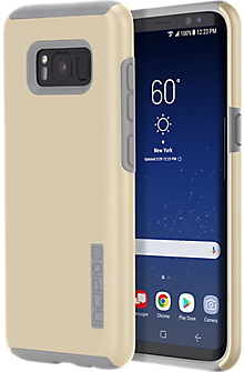 Incipio DualPro Case for Galaxy S8 - Champagne/Gray