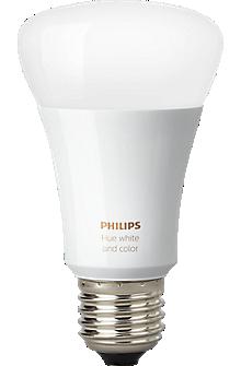 Hue White & Color Ambiance A19 Single Bulb - Gen 3