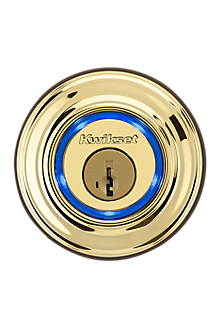Kwikset Kevo - Polished Brass