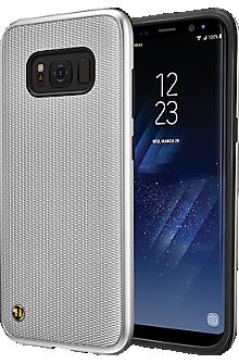 Granite Chain Veil Case for Galaxy S8 - Silver
