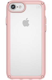 Presidio SHOW for iPhone 8/7/6s/6 - Clear/Rose Gold