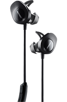 SoundSport wireless headphones - Black