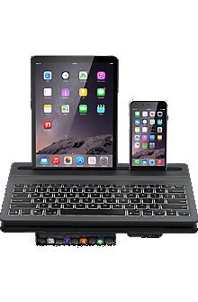 Limitless Multi-Device Wireless Backlit Keyboard - Black