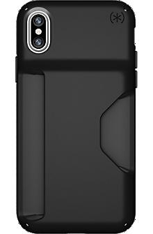 Presidio Wallet for iPhone X - Black/Black