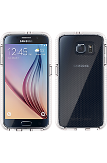 Evo Check for Samsung Galaxy S 6 - Clear/White