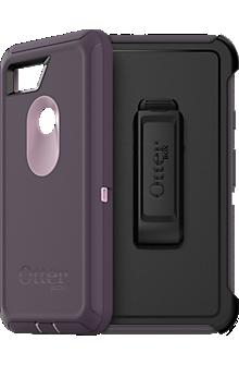 Defender Series Case For Pixel 2 XL - Purple Nebula