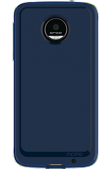 Performance Series Level 4 Case for Moto Z Droid - Navy/Yellow