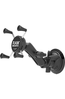 RAM Twist Lock Suction Cup Mount with Universal X-Grip Cell/iPhone Cradle