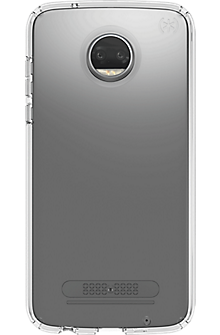 Presidio Clear Case for Moto Z2 Play - Clear/Clear