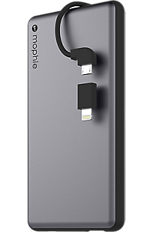 powerstation plus 6000 with Switch-Tip Cable - Space Gray/Black