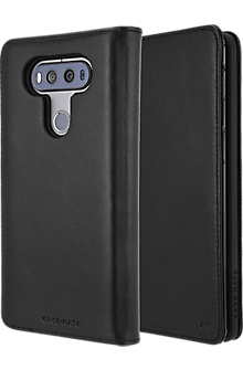 Wallet Folio Case for V20 - Black