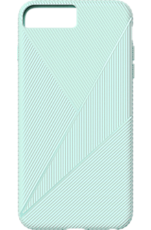 Textured Silicone Case for iPhone 7 Plus - Mint