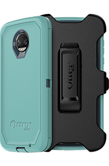 Defender Series Case For moto z2 force edition - Borealis