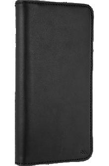 Wallet Folio Case for iPhone 8 Plus/7 Plus/6s Plus/6 Plus - Black