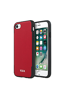 Coated Canvas Co-Mold Case for iPhone 7 - Coated Canvas Red
