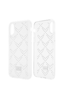Hillock Smartphone Case with Bumper for iPhone X - Transparent