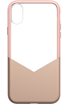 Suit Up case for iPhone X - Rose Gold