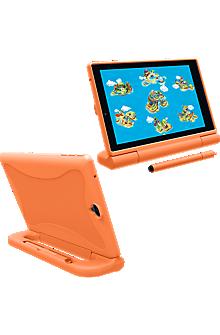 Kick-stand Cover w/stylus for GizmoTab - Orange