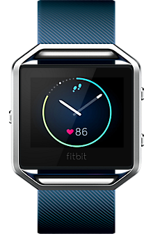Blaze Smart Fitness Watch - Blue Large