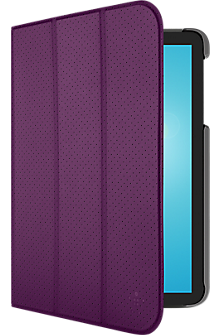 "Tri-Fold Cover for Samsung Galaxy Tab E 8"" - Purple"