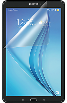 "Anti-Scratch Display Protector 3pk for Samsung Galaxy Tab E 8"""