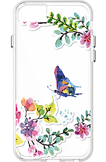 Butterfly pattern Clear Case for iPhone 7/6s/6