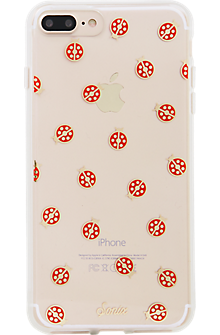 ClearCoat Case for iPhone 7 Plus - Lady Bug/Red