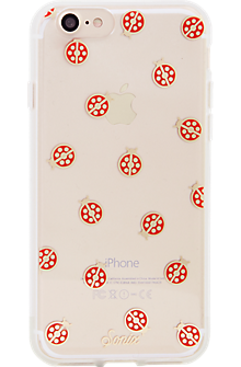 ClearCoat Case for iPhone 7 - Lady Bug/Red