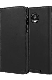 Wallet Folio Case for Moto Z2 Play - Black