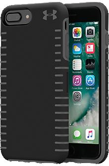 UA Protect Grip Case for iPhone 8 Plus/7 Plus/6s Plus/6 Plus - Black/Graphite