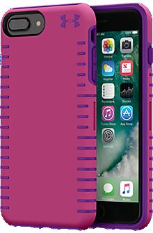 UA Protect Grip Case for iPhone 8 Plus/7 Plus/6s Plus/6 Plus - Tropic Pink/Purple Rave