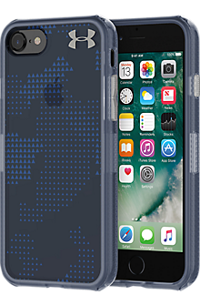 UA Protect Verge Case for iPhone 7 -  Translucent Utility Midnight Navy/Mediterranean