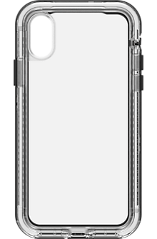 NEXT case for iPhone X - Black Crystal