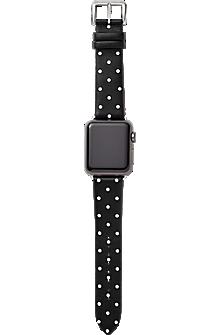38mm Leather Calfskin Apple Watch Strap Series 3